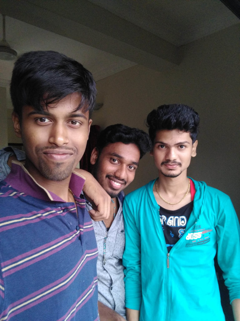 Sivaram, Albin and Akash